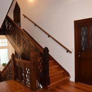 Restaurierungsarbeiten in einer neoklassizistischen Villa in Greifswald
